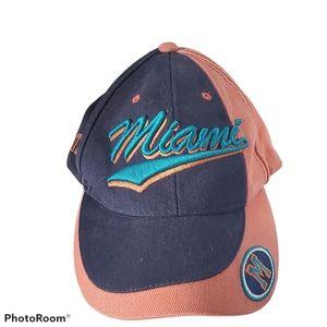 Vintage New Era DCI Miami Heat Baseball Cap Hat